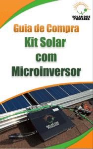 E book guia de compra kit solar Microinversor